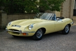 Restored 1970 E Type convertible