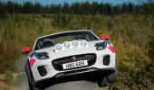 Jaguar F som rallybil!