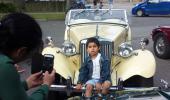 """Køretur med børn og """"havnemøde"""""""