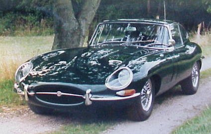 Jaguar E-type Serie 1 Fixed Head Coupé 4.2 litre