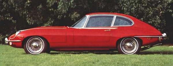 Jaguar E-type Serie 2 2+2 4.2 litre
