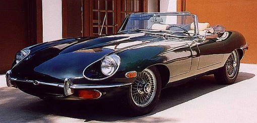 Jaguar E-type Serie 2 Open Two Seater 4.2 litre
