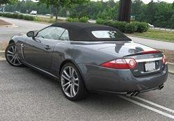 Jaguar XKR 4.2 Convertible Supercharged